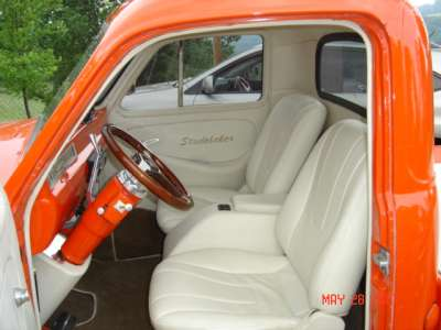 White Leather Interior Rustic Chic