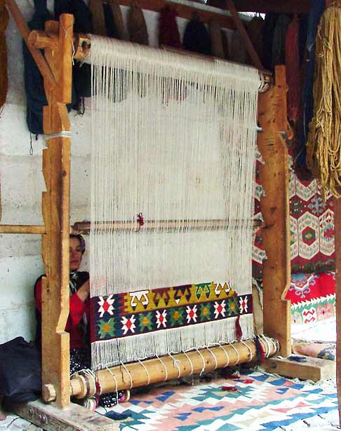 Medieval Looms On Pinterest Loom Weaving And Textiles