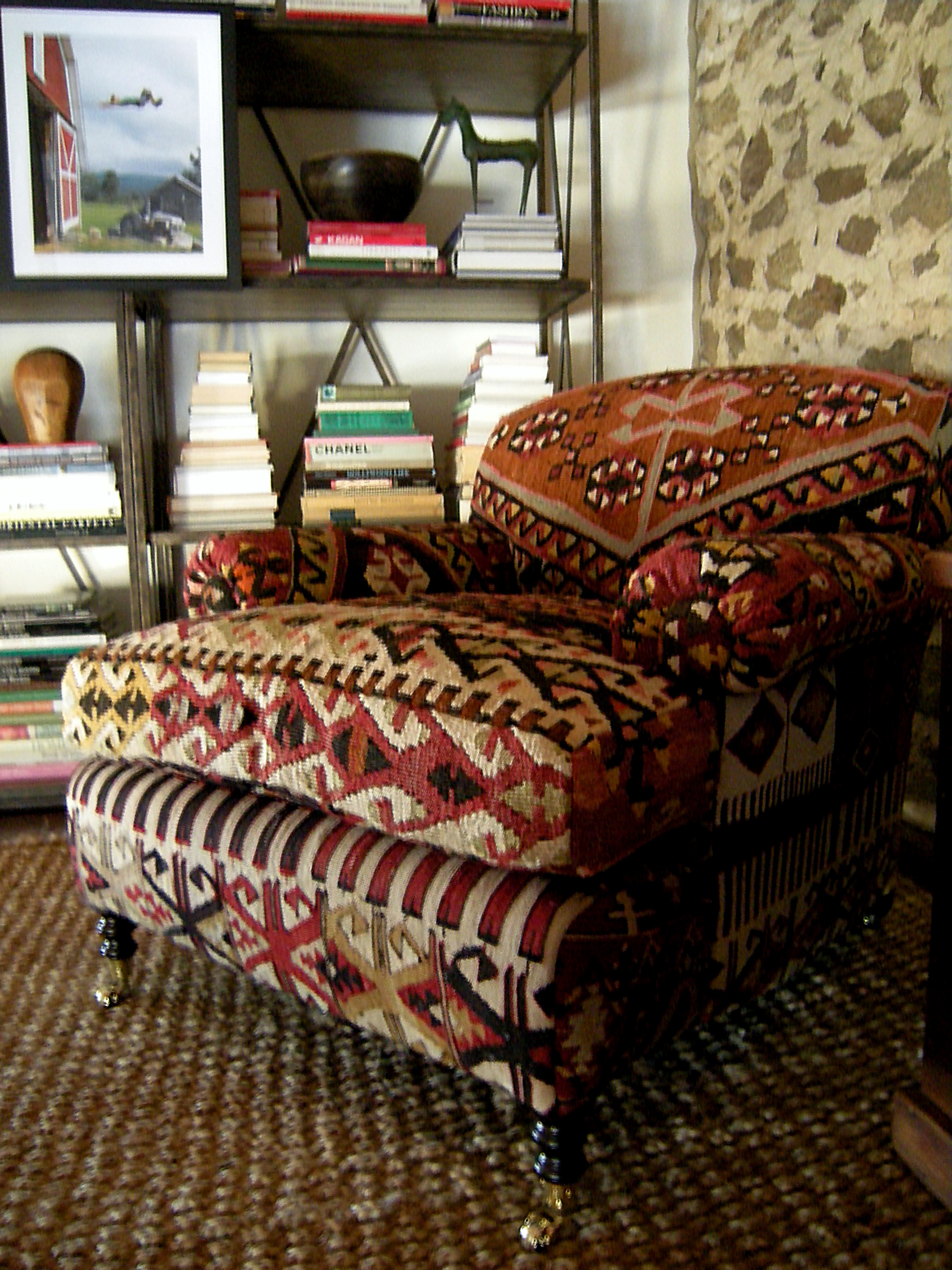 The Rustic Chic Kilim Rustic Chic