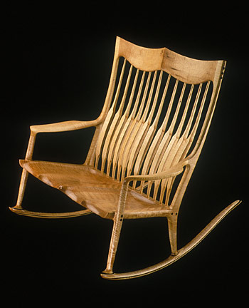 double rocking chair plans