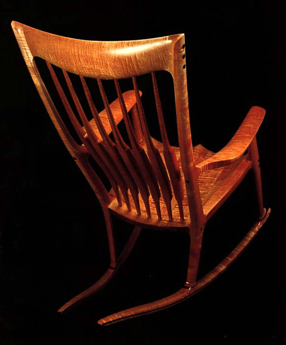 Sam Maloofs Rustic Chic Rocking Chairs