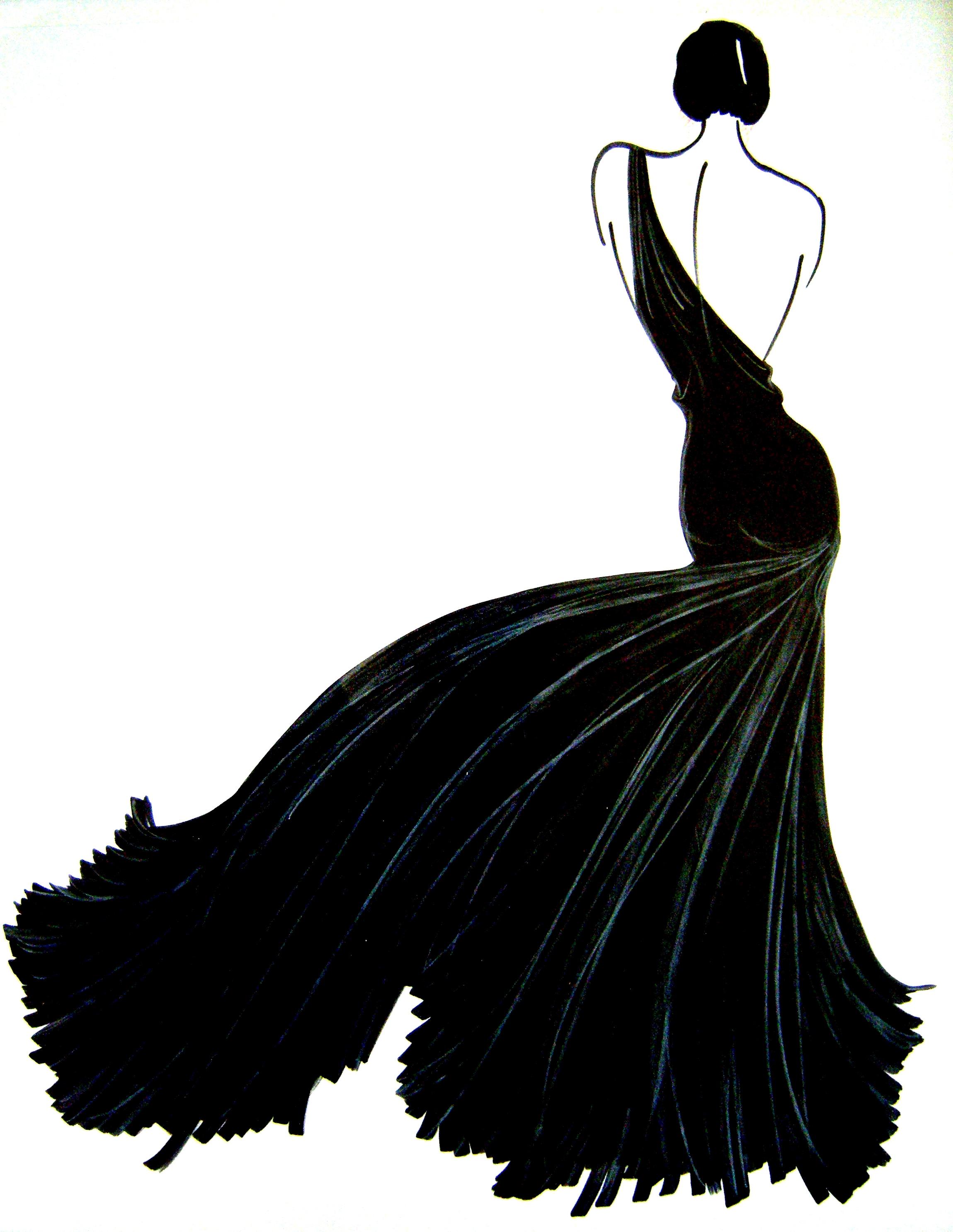 fashion illustration | Rustic Chic